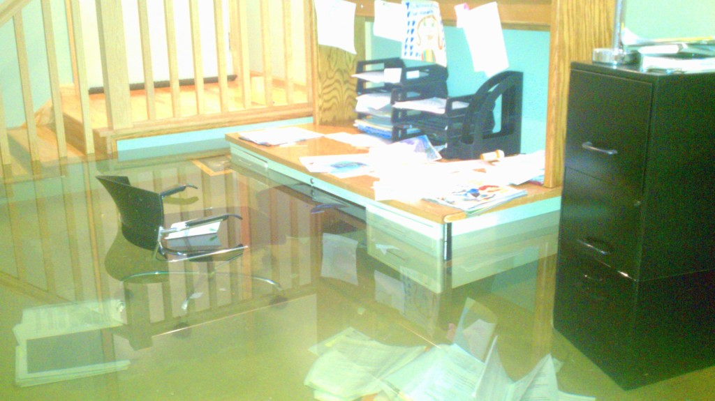 flooded basement cleanup drying and repair clean response